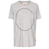 Paul Smith T-Shirts - Regular Fit Grey Circle Print T-Shirt