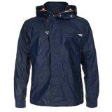 Paul Smith Jackets - Navy Hooded Jacket