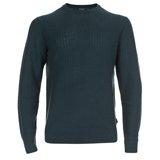 Paul Smith Knitwear - Green Textured Knit Crew Neck Jumper