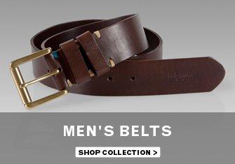Men's Belts - Shop Collection