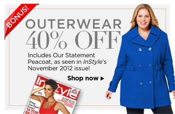 40% off Outerwear!