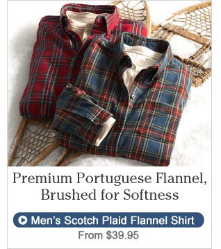Premium Portuguese Flannel, Brushed for Softness