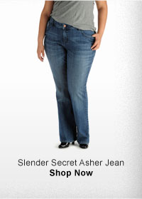 SLENDER SECRET ASHER JEAN SHOP NOW