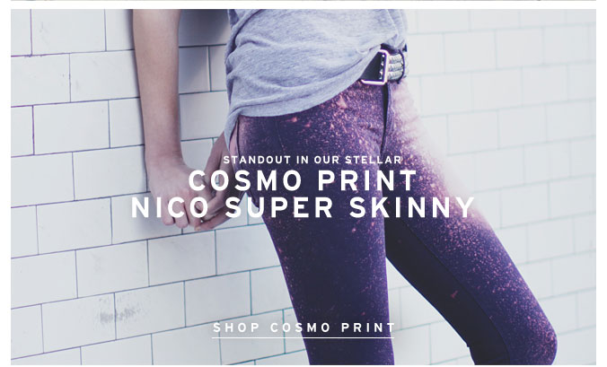 Cosmo Print Nico Super Skinny