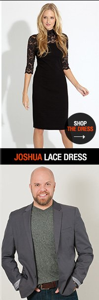 Shop Joshua Lace Dress