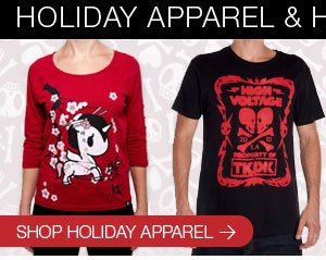 Check out our Holiday Apparel
