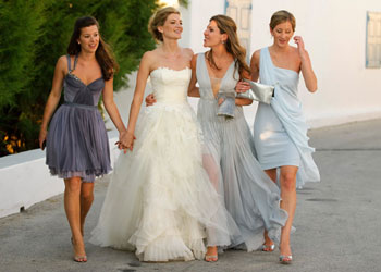 Vera wang an inside look at a vogue brides wedding win 2 vera real wedding vogue vera wang junglespirit Gallery