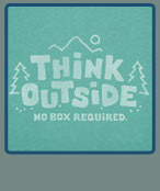 No Box Required on Teal
