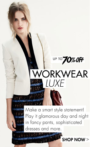 70% off workwear luxw