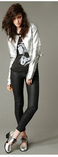 Get your wardrobe up to speed with new silver essentials and other star items to make you shine