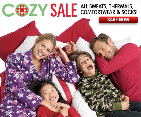 Cozy Sale