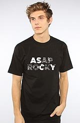 The ASAP Paisley Tee in Black ASVP