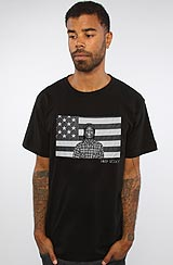 The ASAP Flag Tee in Black ASVP