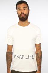 TThe ASVP Life Tee in White