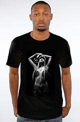The ASVP Girl Tee in Black