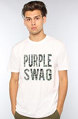 The Purple Sway Tee in White ASVP