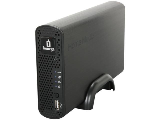 iomega 34766 2TB Home Media Network Hard Drive, Cloud Edition