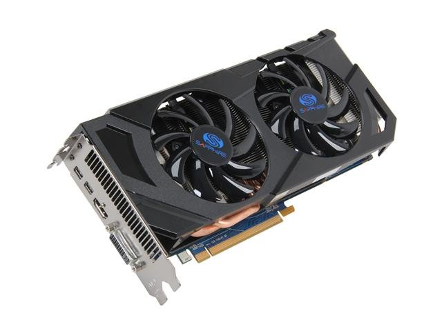 SAPPHIRE Radeon HD 7870 GHz Edition OC 2GB 256-bit GDDR5 PCI Express 3.0 x16 HDCP Ready CrossFireX Support Video Card (11199-03-20G)
