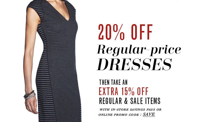 20% OFF Regular–price DRESSES