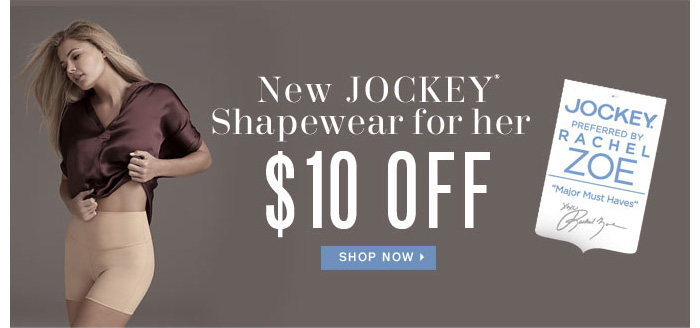 New JOCKEY* Shapewear for her $10 OFF