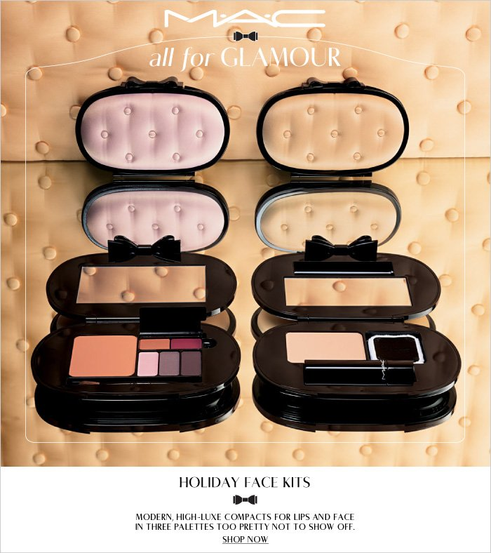 Modern, high-luxe compacts for lips and face in three palettes too pretty not to show off.  SHOP NOW
