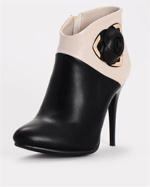Bertalini Faux Leather Booties $45