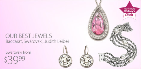 Our best Jewels from Baccarat, Swarovski, Judith Leiber
