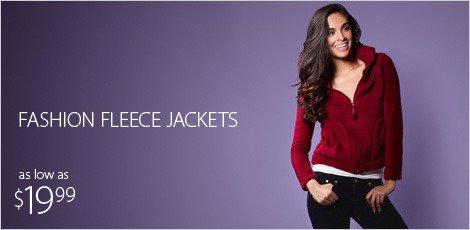 fashion fleece jackets
