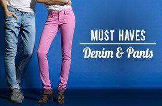Must Haves: Denim/Pants