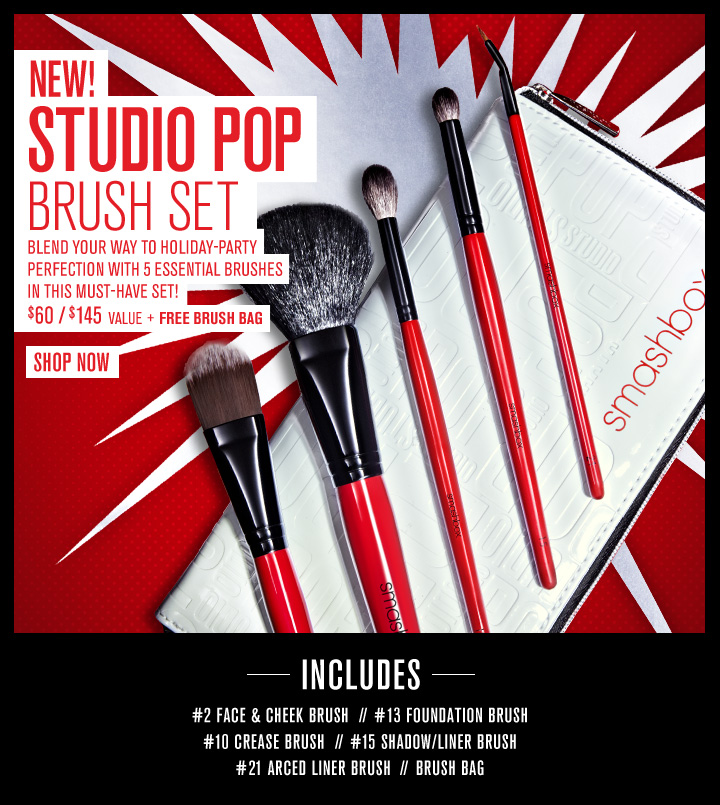 Studio Pop Brush Set