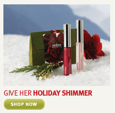 give her holiday shimmer. shop  now