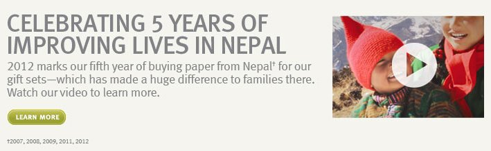 celebrating 5 years of  improving life in nepal. learn more