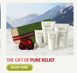 the gift of pure relief. shop  now