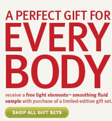 a perfect gift for every body.  shop all gift sets