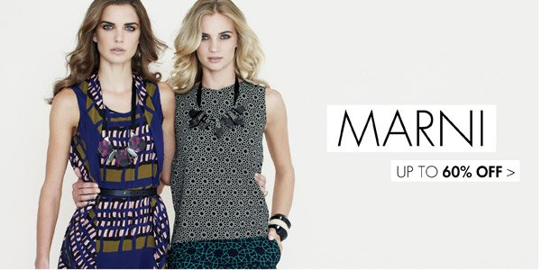 Marni up to 65% off >