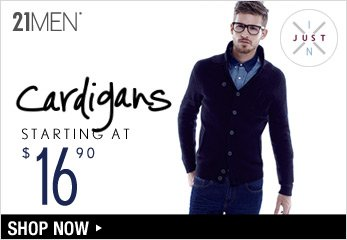 Cardigans Starting at $16.90 - Shop Now