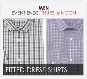 MEN'S FITTED DRESS SHIRT EVENT