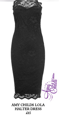 Amy Childs Lola Halter Dress