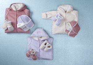 Luca Charles: Winter Gear for Baby Girls