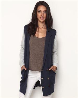 M.O.L. Knits Boyfriend Blazer Sweater $59