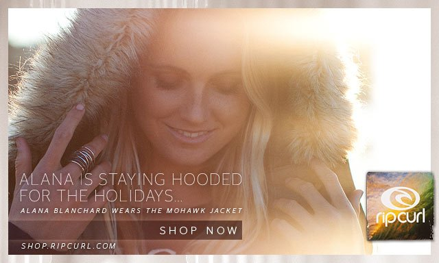 Alana is Staying Hooded for The Holidays... Alana Blanchard Wears The Mohawk Jacket - Shop Now