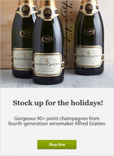 90+ Champagnes from fourth-generation winemaker Alfred Gratien - Shop Now