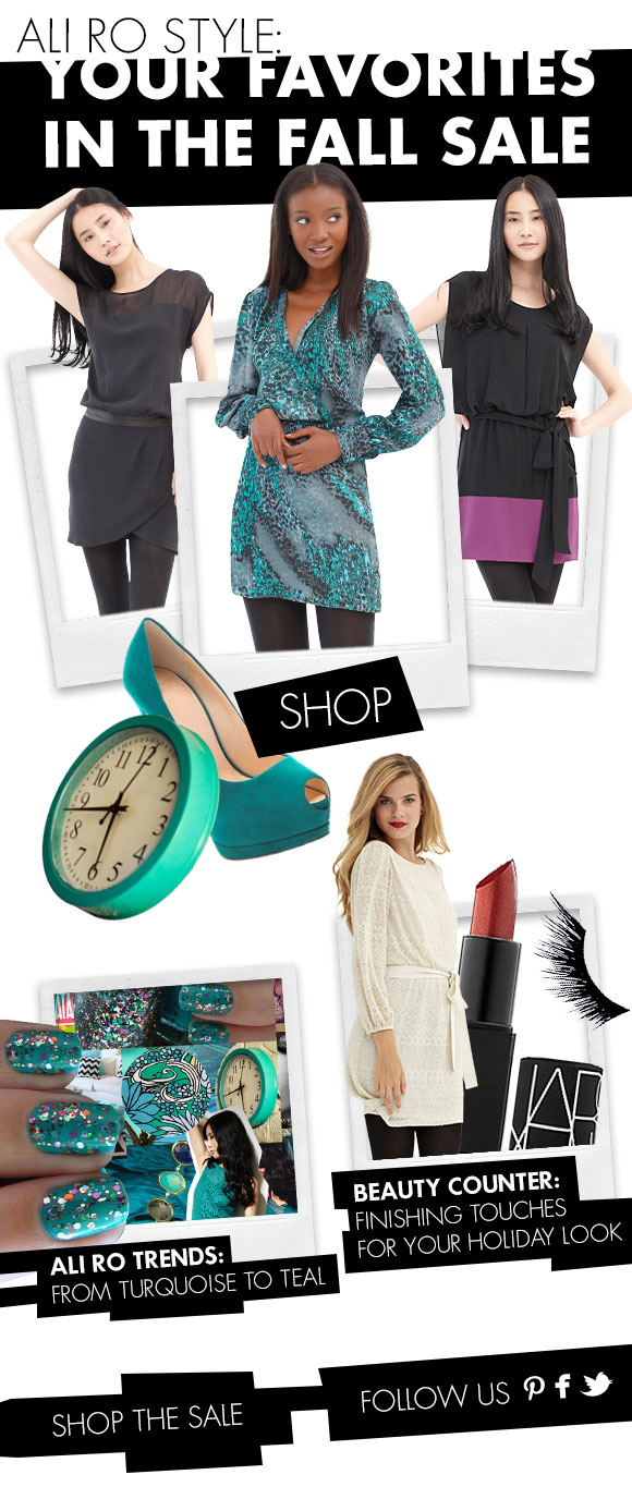 Ali Ro Style: Your Favorites in the Fall Sale