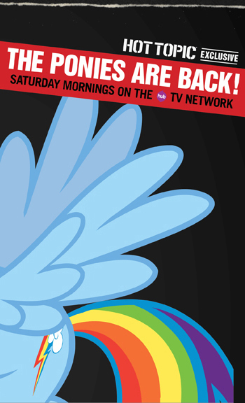 THE PONIES ARE BACK! SATURDAY MORNINGS ON THE HUB TV NETWORK
