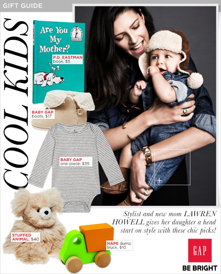 Gift Guide: Gap Styld.by with Lawren Howell