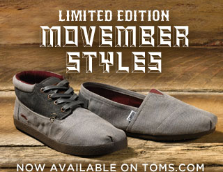 Limited Edition Movember Styles