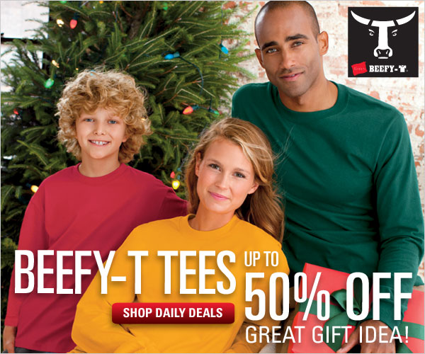 Beefy-T tees deals