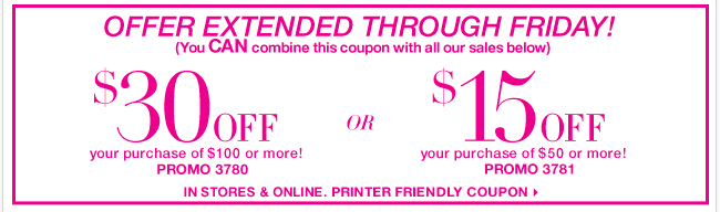 You now have ONE MORE DAY to use this coupon and Save BIG! Shop Now