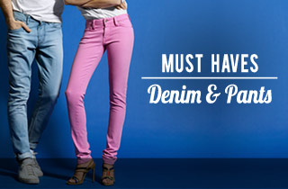 Must Haves: Denim/Pants