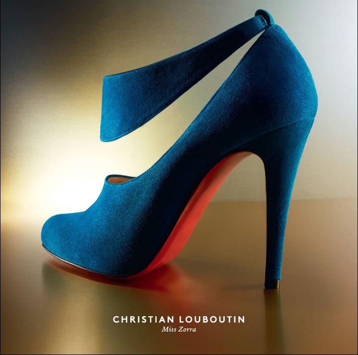 Blue Suede, Red Soles: Shop Christian Louboutin Women's Shoes